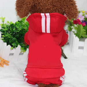 Warm Winter Dog Clothes, Hoodie for Small Medium Dogs, Puppy and Dog Clothes XS-XXL French Bulldog