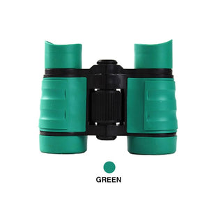 Adjustable Binoculars Telescopes Mini Rubber Guards Kids Outdoor Games Toys Hiking