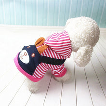 Load image into Gallery viewer, Fashionable Striped Pet Dog Clothes for Dogs Coat Hoodie Sweatshirt Winter Ropa Perro Dog Clothing Cartoon Pets Clothing