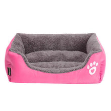 Load image into Gallery viewer, Pet Sofa Dog Beds Indoor Small Medium Large Dog Soft Fleece Warm Cat Bed House Waterproof Bottom Kennel Mat Blanket Pet Products