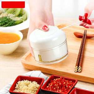 Slicer Garlic Press Mini Stainless Steel Pressure Multi-Function Ground Peanuts Mashed Kitchen Gadget Seasoning tool N