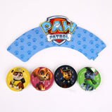 Paw Patrol Design Boys Kids Birthday Party Decorations Balloon Paper Cups Plates Baby Shower Disposable Tableware Supplies