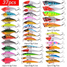 Load image into Gallery viewer, Almighty Mixed Fishing Lure Kits  Wobbler Crankbaits Swimbait Minnow Hard Baits Spiners Carp Bait Set Fishing Tackle