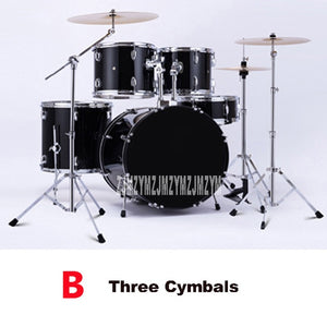 Music Percussion Instruments Five Drums Adult Children Beginners Acoustic Drum Kit 3/4 Cymbals Jazz Drum/Drum Kit Set