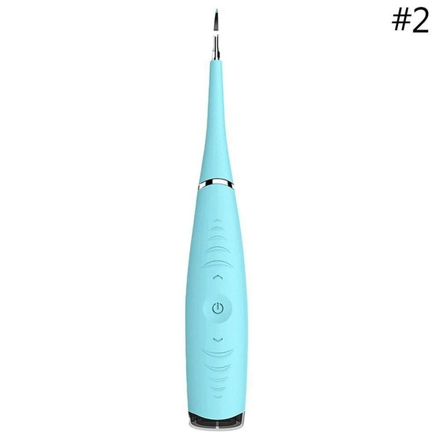 Portable Electric Sonic Dental Scaler Tooth Calculus Dentist Whiten Teeth Health Oral Hygiene Remover Tooth Stains Tartar Tool
