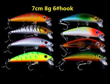 Load image into Gallery viewer, Mixed Baits Fishing Lures set Minnow fishing Wobblers Crankbaits Swimbait Hard Baits bass Carp Fishing Tackle