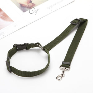 Universal Practical Dog Cat Pet Safety Belt Adjustable Car Seat Belt Harness Leash Travel Clip Strap Lead Pet Auto Safety Belt