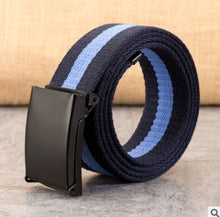 Load image into Gallery viewer, Multicolor New Fashion Unisex Waist Belt Waistband Casual Canvas Belts Multi-Color