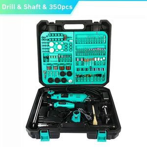 Tungfull Electric Tools Dremel Mini Drill Woodworking Drilling Machine Mini Polishing Machines Dremel Rotary Tool Drill Grinder