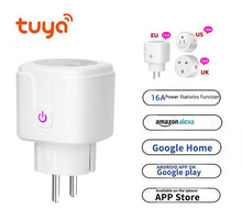 Load image into Gallery viewer, Wifi Smart Plug Tuya Smart Home Socket Smartlife EU US UK Poland Korea Plug Compatible Google Home Alexa