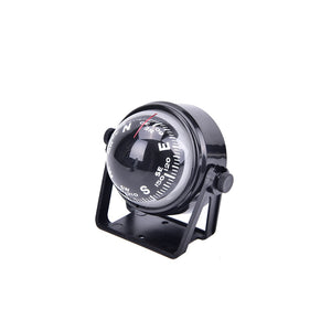 1PC Pivoting Compass Dashboard Dash Mount Marine Boat Truck Car Black color