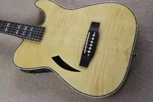 high gloss thin body silent electric acoustic guitar solid wood thin body silent special design guitar