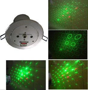 Ceiling Lamp laser light Stage Light DJ Disco Stage 150mW RG recessed Laser DJ Pro Show Lighting