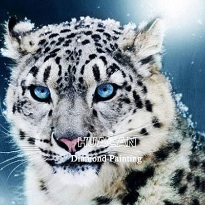 Leopard 5D Diamond Painting Full Square Diy Embroidery Cross Stitch Animal Home Decoration 5-D Diamond Art Gift