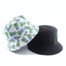 Load image into Gallery viewer, Cookie Hat Reversible Cartoon Bucket Hats For Women Men Street Hip Hop Bucket Cap Vintage Printed Fishing Hat