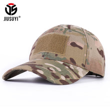 Load image into Gallery viewer, Baseball Caps Multicam Military Camouflage Military Tactical Soldier Combat Paintball Adjustable Classic Snapback Sun Hats Men Women