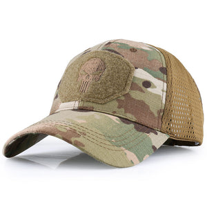 Baseball Caps Multicam Military Camouflage Military Tactical Soldier Combat Paintball Adjustable Classic Snapback Sun Hats Men Women