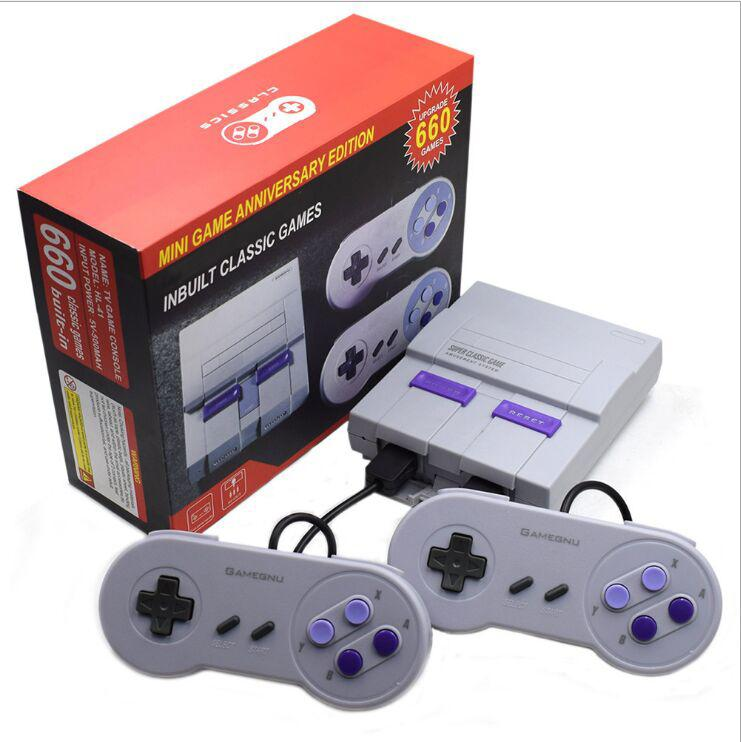 HobbyLane Mini retro Video game console for NES 8 bit for integrated entertainment system 660 family games video game console d20