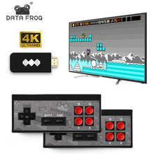 Load image into Gallery viewer, Mini 4K video game console double and retro players build in real 568 classic games wireless controller hdmi / av output