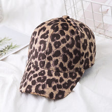 Load image into Gallery viewer, Baby Kids Leopard Hat Toddler Girl Boy Sun Hat Cap Summer Outdoor Leopard Baseball Cap