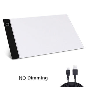 A4 LED Light Pad for Diamond Painting USB Powered Light Board Kit Digital Graphics Tablet for Drawing Pad Art Painting board