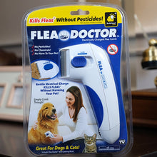 Load image into Gallery viewer, Pet Cat Dog Electric Terminator Brush Anti Removal Kill Lice Cleaner Electric Head Pet Fleas Electronic Lice Comb for Dog