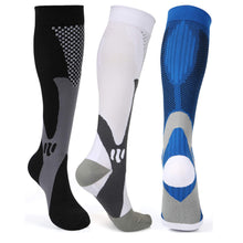 Load image into Gallery viewer, Compression Socks Nylon Medical Nursing Stockings Specializes Outdoor Cycling Fast-drying Breathable Adult Sports Socks