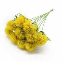 Load image into Gallery viewer, 5pcs Artificial plants Dandelion bouquet vases for home decor wedding decorative fake flowers needlework ornamental flowerpot