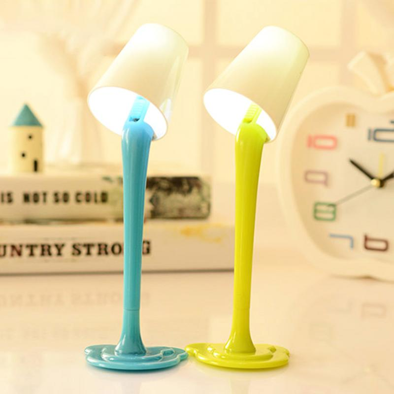 Creative table lamp ball pen dual-use cute night lamp shade