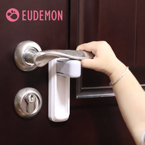Easy to Install and Use 3M VHB Adhesive Door Lever Lock Baby Proofing Door handle Childproofing Lock Door Knob Lock