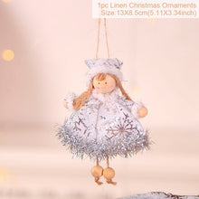Load image into Gallery viewer, Christmas Doll Decoration Christmas Tree Decoration Xmas Hanging Ornament Gifts For Kids Navidad Natale Happy New Year 2021