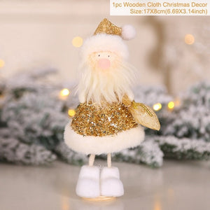 Christmas Doll Decoration Christmas Tree Decoration Xmas Hanging Ornament Gifts For Kids Navidad Natale Happy New Year 2021