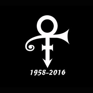 1958-2016 Prince Symbol 15X11.1CM Music Musician Decal Vinyl Car Sticker Car-Styling