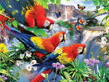 Birds Parrot 5D Rhinestone Painting DIY Full Drill Square Round Diamonds Arts Crafts Embroidery Animal Diamond Painting Home Decor
