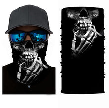 Load image into Gallery viewer, Tube 3D Printed Face Coving Unisex Seamless Balaclava Scarf Headwear Sports Bandanas Men Cycling Hiking Scarf Neck Gaiter