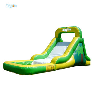 Outside Water Pool Games Inflatable Slide For Sale