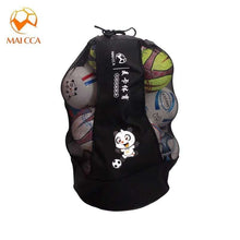 Load image into Gallery viewer, MAICCA Volleyball balls bag backpack Super big for Football basketball Soccer 25 pcs fit ball net bags sports training bag