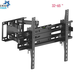"Articulating Full Motion TV Wall Mount Bracket Tilt Swivel Bracket TV Stand Suitable TV Size  32''-65"" MAX VESA 600*400mm"