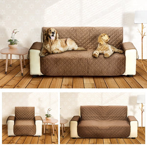 Pet Dog Cover Couch Sofa Covers Protectors for Kid Dog/Cat Couch Chair Covers for 1/2/3 Seat Pet Dogs Reversible Furniture Seats