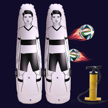 Load image into Gallery viewer, 1.75m Adult Inflatable Football Training Goal Keeper Tumbler Air Soccer Train Dummy Tool PVC Inflatable Tumbler Wall