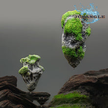 Load image into Gallery viewer, Suspended Artificial Floating Stone Aquarium Landscape Decoration Pumice Rockery Fish Tank Decoration Aquarium Plants accessories
