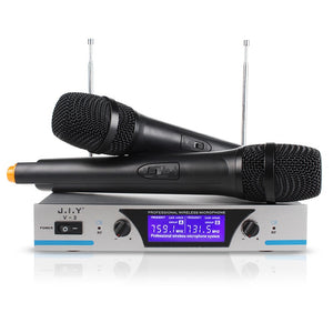 Handheld Wireless Karaoke Microphone Karaoke player Home Karaoke Echo Mixer System Digital Sound Audio Mixer Singing Machine V3+