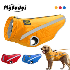 Medium Big Dog Winter Clothes For Dogs Pets Clothing Reflective Dog Jackets Outdoor Dog Coat Winter Warm French Bulldog