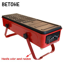 Load image into Gallery viewer, BETOHE Barbecue outdoor mini barbecue home charcoal grilling tools 3-5 people wild full set of carbon stove smokeless