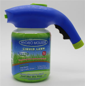 Hydro Mousse Gags Toy Liquid Lawn Sprayer As Seen on Tv Plastic System Liquid Lawn Hydro Mousse Bermuda Grass Seed Sprayer