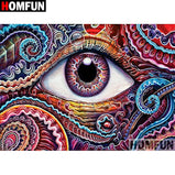 Abstract Eye 5D Diamond Paintings DIY Full Drill Square Round Diamonds Arts Crafts Embroidery Rhinestone Paintings Home Decor
