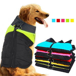 Pet Dog Clothes Winter Waterproof Clothes For Big Dogs Pet Coat Dog Clothing Outfit French Bulldog Jacket