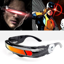 Load image into Gallery viewer, X-men Laser Cyclops Sunglasses Men Women Designer Special Memory Materials Polarized Travel UV400 Sun Glasses Vintage Oculos