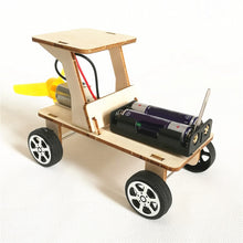 Load image into Gallery viewer, Model Toy Car Model Modeling Diy Kit Antique Vintage Diecast Car Set Collectible Battery Wooden Paper Die Cast Craft Toys Car