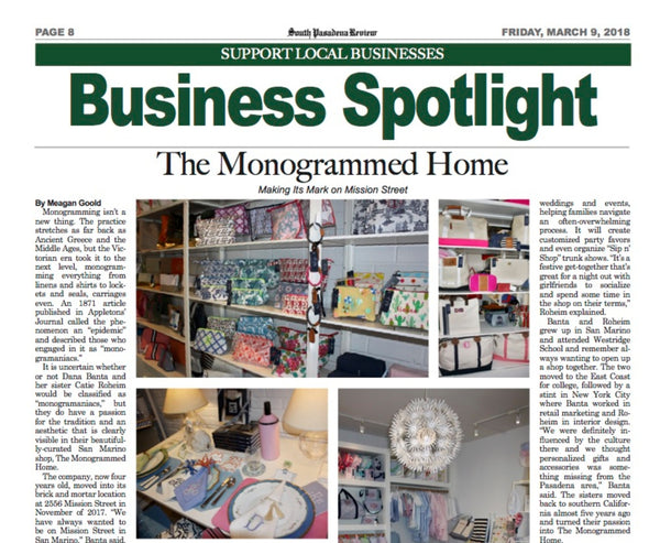 March 2018 San Marino Tribune and South Pasadena Review